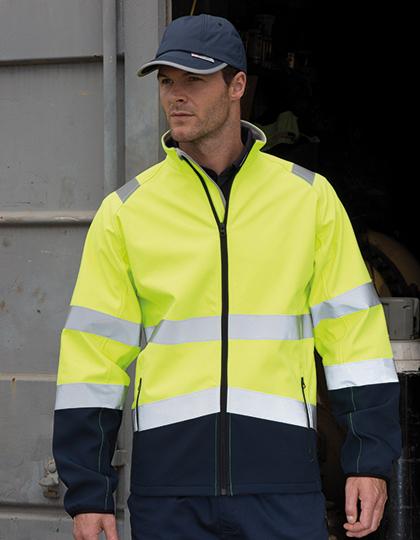 Printable Safety Softshell Jacket